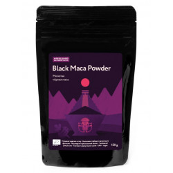 Ufeelgood. МАКА ЧЕРНАЯ /BLACK MACA POWDER ORGANIC 150 гр.